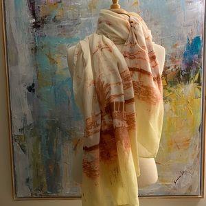 Lightweight shawl scarf